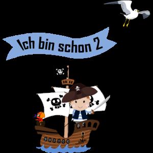 Piratenschiff Kleiner Pirat Ich bin 2