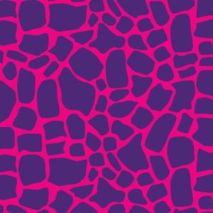 Giraffen Muster Pink