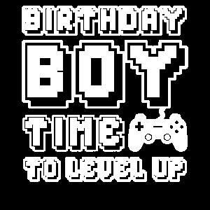 Birthday Boy Time To Level Up - Geburtstag