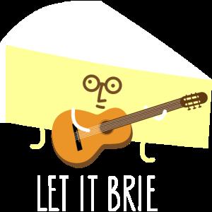 Gitarrist als Käse