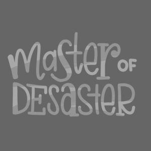 Master of Desaster Schriftzug