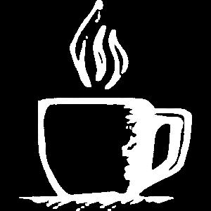 Tasse mit heissem Getränk