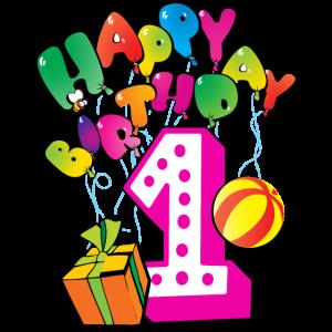 Happy Birthday 1. Geburtstag