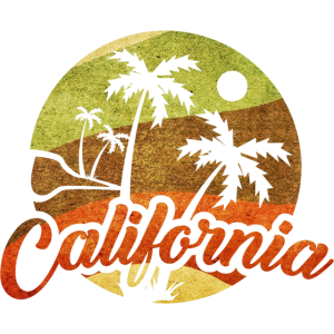 Kalifornien Retro Surf Vintage Surfer Surfen