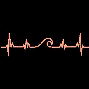 Herz für Wellen