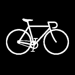 Fixie bike white