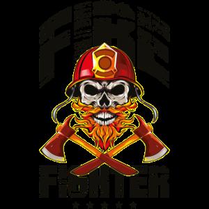 Feuerwehrmann Feuerwehr Skelett