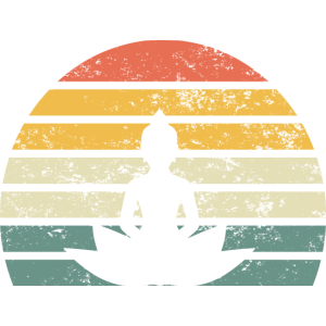 Buddha Meditation Spirit Freigeist Vintage Retro