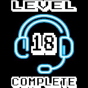 18 Jahre Gamer Geburtstag