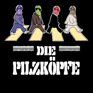 Pilze,Band,Die Pilzköpfe,Musik, Zebrastreifen FUN