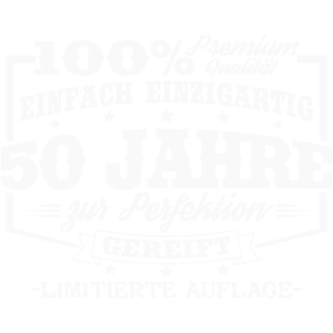 50 Jahre Geburtstag Spruch Geschenk