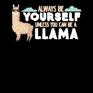 LLama Sei immer du selbst Lama