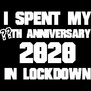 Ich habe meine ?? Jubiläum 2020 In Lockdown