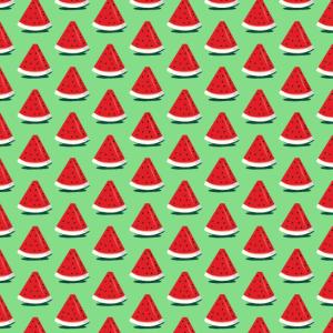Grünes Wassermelonenmuster