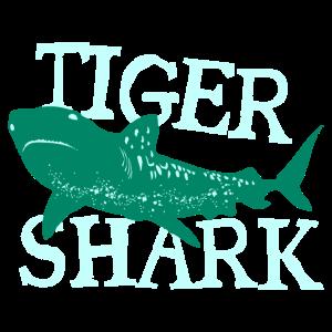 Fisch Tiger Shark Gefahr Taucher Geschenk