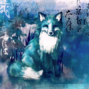 Kitsune Blue Version