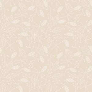 Blätter Blumenmuster Muster Creme Beige