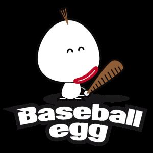 Illustration Celka Baseball Egg v1