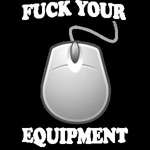 pc gamer lustiger spruch maus hardware zocken