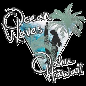 Ocean Waves Oahu Hawaii