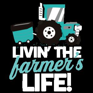 Traktor Bauernhof Leben