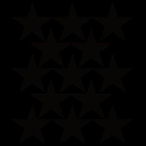 Schwarze Sterne Symbol Selbstgestalten Vorlage