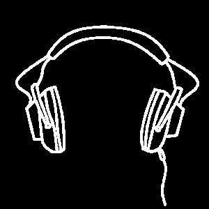 Kopfhörer Headset Musik old school