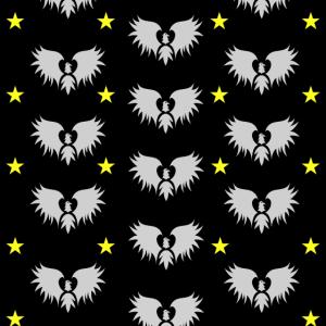 Vogel Stern Maske