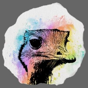 Emu Aquarell