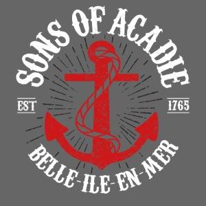 Sons Of Acadie BASE ANCRE BLANC