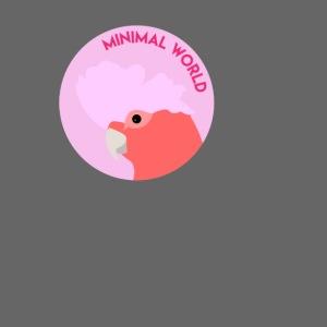 minimal world logo