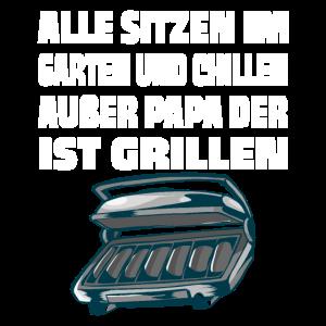 papa grillmeister grillen