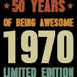 50 Jahre großartig 1970 sein