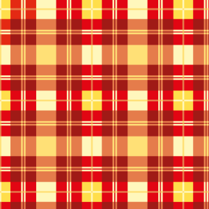 Karo Muster Rot Gelb Kariert Quadrat
