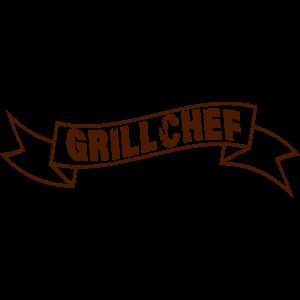 GRILLCHEF - Vektor = Motivfarbwechsel möglich