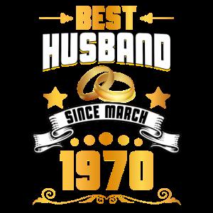 Bester Ehemann seit März 1970