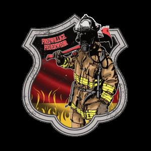Freiwillige Feuerwehr Wappen Symbol Geschenk