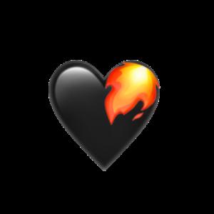 Herz mit Feuer