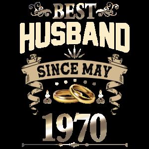 Bester Ehemann seit Mai 1970