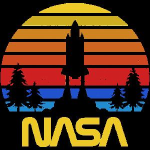 USA SPACE AGENCY VINTAGE FARBEN