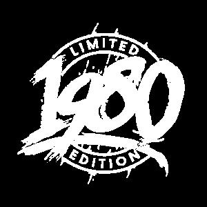 Limited Edition 40 Jahre Geburtstag Jahrgang 1980