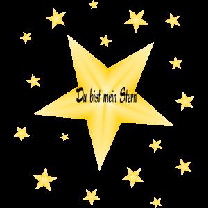 Du bist mein Stern, Sterne