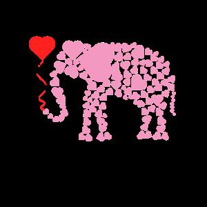 Nettes Elefantengeschenkprodukt Elefanten-Wildtiere