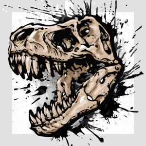 Dinosaurier / Tyrannosaurus Rex / T-Rex / Poster