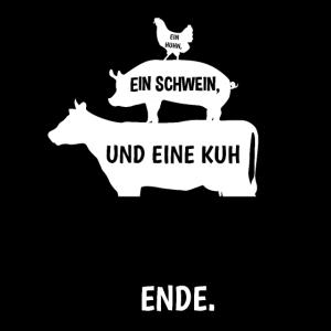 Grillen With Huhn Schwein Kuh Grillabend