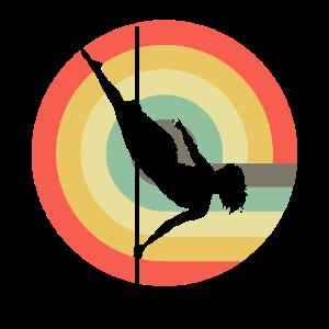 Pole Dance Retro Sun