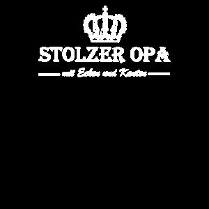 Stolzer Opa mit Ecken und Kanten