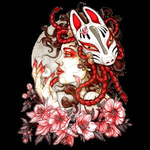 Frau Manga Oni Fox