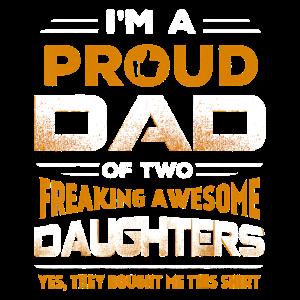 Ich bin stolzer Vater von zwei verdammt tollen Töchtern
