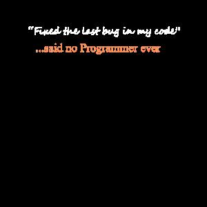Lustig sagte kein Programmierer jemals Design